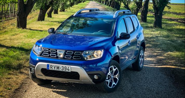 Porzik utána az út – Dacia Duster 1.5dCi 15th Celebration