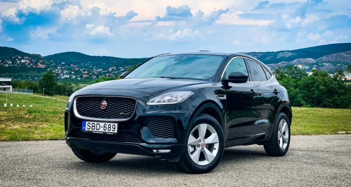 Tökéletes alternatíva – Jaguar E-Pace 2.0d R Dynamic S
